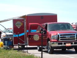 Hazardous Materials Truck and Trailer