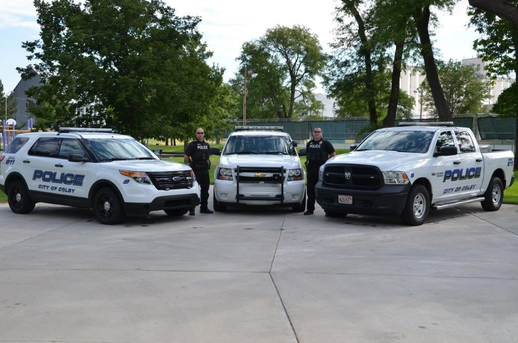 Police Officers with Vehicles